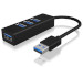 ICY BOX IB-HUB1419-U3 4-port USB 3.0 Hub