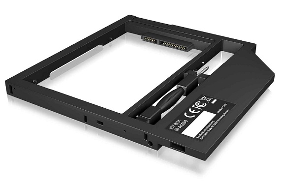 ICY BOX IB-AC649 Adapter for a 2.5'' HDD/SSD in Notebook DVD bay