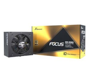 Seasonic FOCUS GX 650W Gold, retail (SSR-650FX)