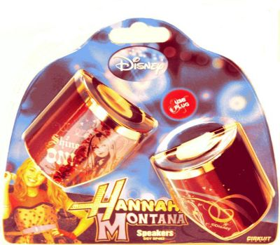 DISNEY SPEAKERS HANNAH MONTANA SP462