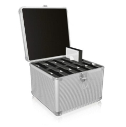 "IB-AC628 Aluminium suitcase for 2.5"" a 3.5"" HDDs"